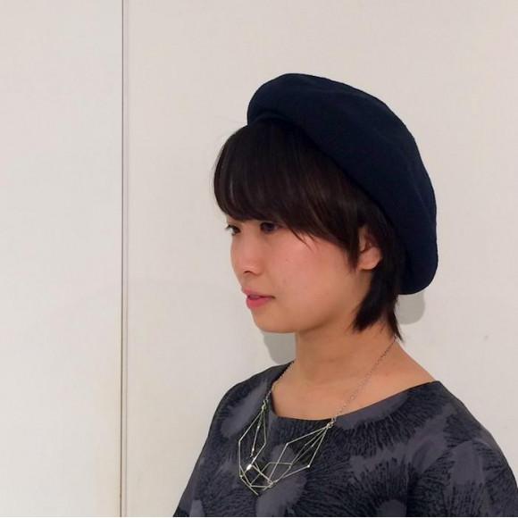 アクリルナイロンベレー帽