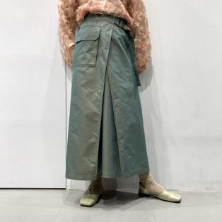 ラップポケットスカート