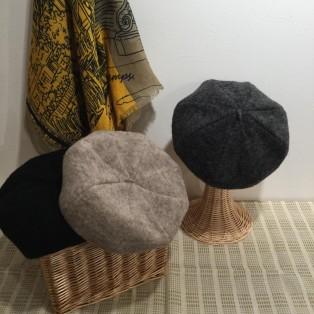 秋冬のコーディネートに欠かさないベレー帽★