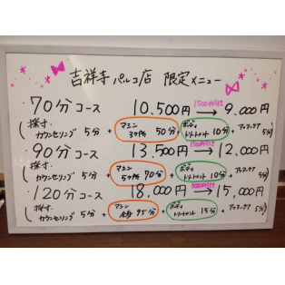 QTTO吉祥寺限定メニュー