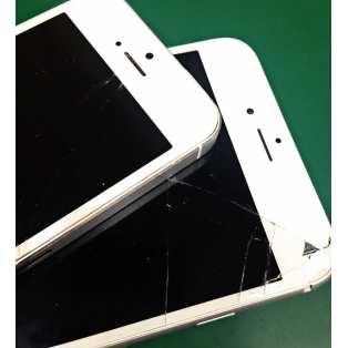 iPhoneの画面割れは即日対応できます。