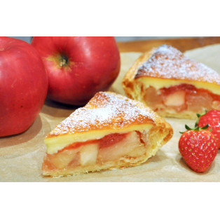 ストロベリーチーズケーキアップルパイのご紹介
