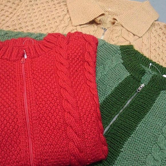 ジップセーター!!!