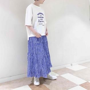 【2階 nop de nod】今から着られる5分袖ロゴTシャツ*