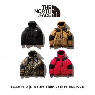 「THE NORTH FACE」バルトロライトジャケット販売について