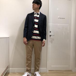 【MENS】ジャケットスタイル