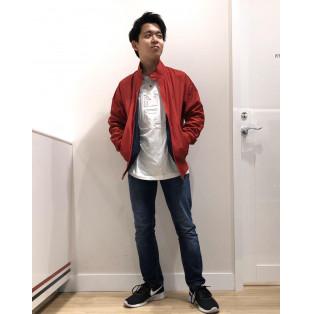 【MENS】ハリントンジャケット