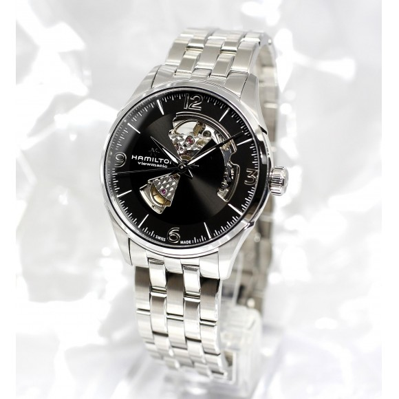 【HAMILTON】中の機械が見える特別な時計オープンハート