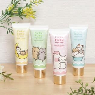 ★新商品★FukuFukuNyanko 保湿ハンドクリーム