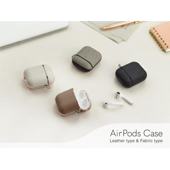 レザー&ファブリック調の2種類のAirPods ケース発売開始!