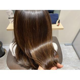 gloss hair♡
