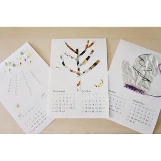 12/14(土)開催 !異素材で楽しむ『コラージュカレンダー』を作りませんか