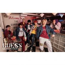 【6FGuess】GUESS x GENERATIONS コラボレーションコレクション発売