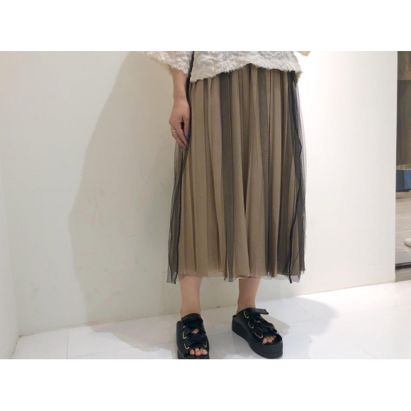 レイヤードプリーツスカート♡