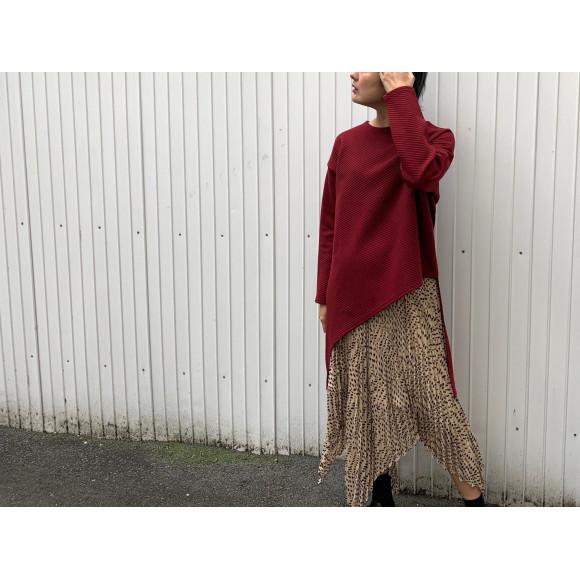 変形ドットスカート!
