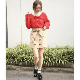 ◇新作◇トレンチスカート