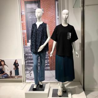 GU熊本パルコ店にはウィメンズ、メンズから秋物続々と入荷中です(^ ^)