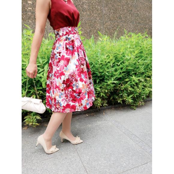 素敵な花柄ドレスのご紹介です❤