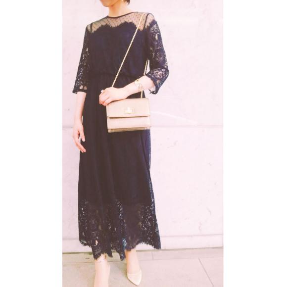 バーゲン残り一週間★おしゃれなロング丈のドレスのご紹介です❤