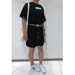 ベルト付きビッグTシャツ★☆
