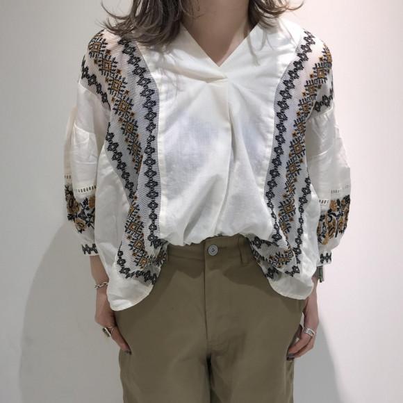 コットンメッシュ刺繍シリーズ