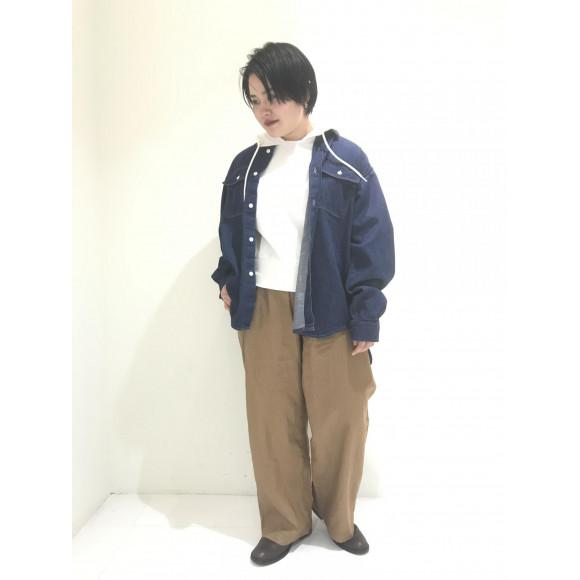 XXLデニムシャツ