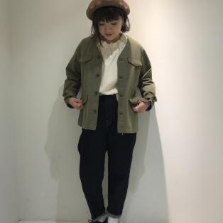 ★カラーレスミリタリージャケット★