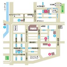 熊本パルコ 駐車場サービス変更のお知らせ