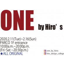 ヒロ・デザイン専門学校のPOP UP SHOP「ONE by Hiro's」開催!