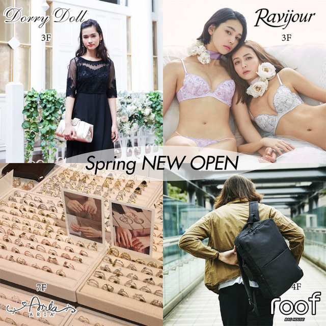 Spring NEW OPEN!!