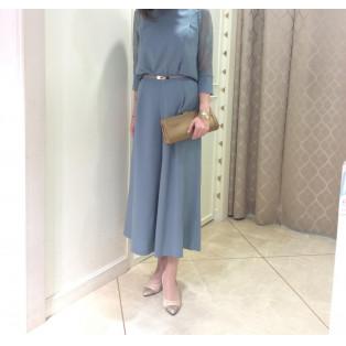 NEW☆セパレート×パンツドレス