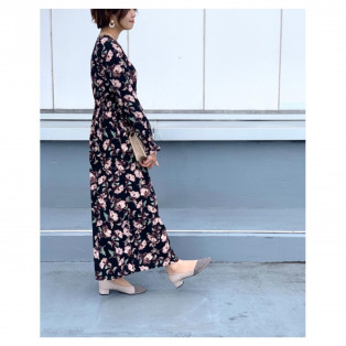 ✨AIMER daily花柄ワンピース✨