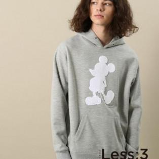 【Less:3/レスリー】サガラミッキープルパーカー