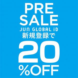 【限定PRE SALE開催中!】6/17(月)〜6/27(木)