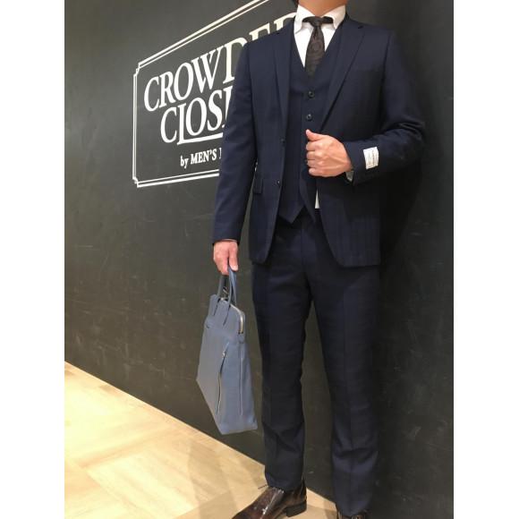 新作スーツ&【JOYA】新作ベジタブルタンニンオールレザーブリーフバッグ