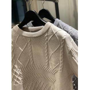 編み編みセーター