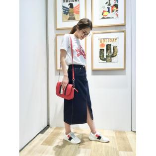 【WOMENS】デニムスカート