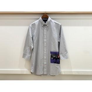 【MENS】3/4スリーブアートワークシャツ