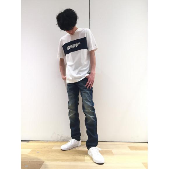 【MENS】大人気!!ロゴTシャツ