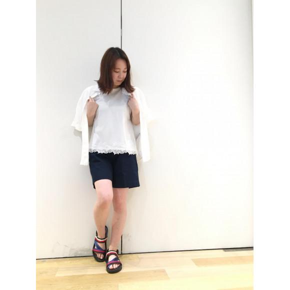 【WOMENS】40%OFFレースTシャツ