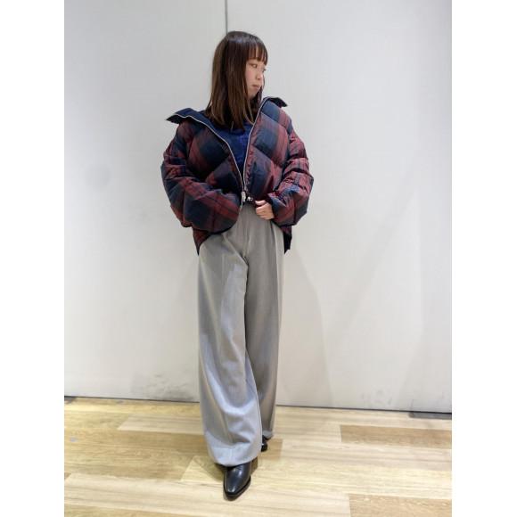 【WOMENS】リバーシブルダウンジャケット