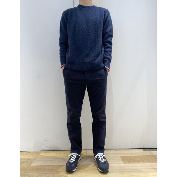 【MENS】ブラッシュウールセーター