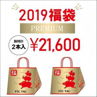 【腕時計2本入で21,600円】2019年 TiCTAC 新春 福袋 HAPPY BAG 【送料無料】