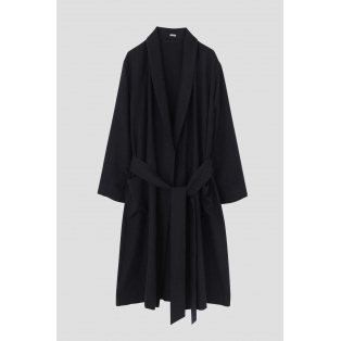 SOFT WOOL DRESSING GOWN