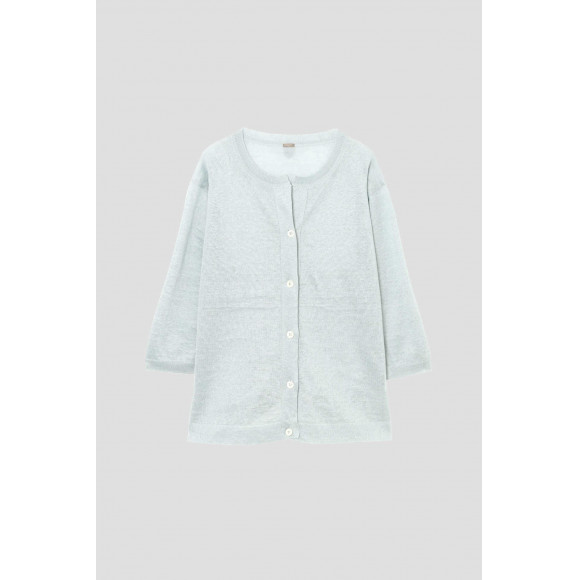 RELAXED LINEN CARDIGAN