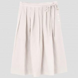 LIGHT LINENスカート