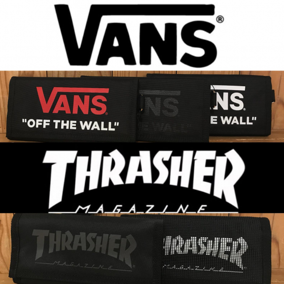 outlet store 4c3ae b89ec VANS(バンズ)』&『THRASHER(スラッシャー)』の長財布が ...