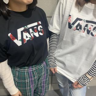 【VANS】Tシャツ新商品!!!