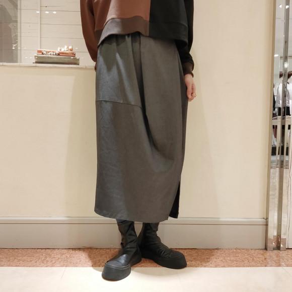 アシメコクーンスカート