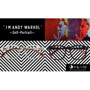 新商品「ANDY WARHOL」シリーズ好評発売中!!そして始まる、安心の遠近両用1年保証